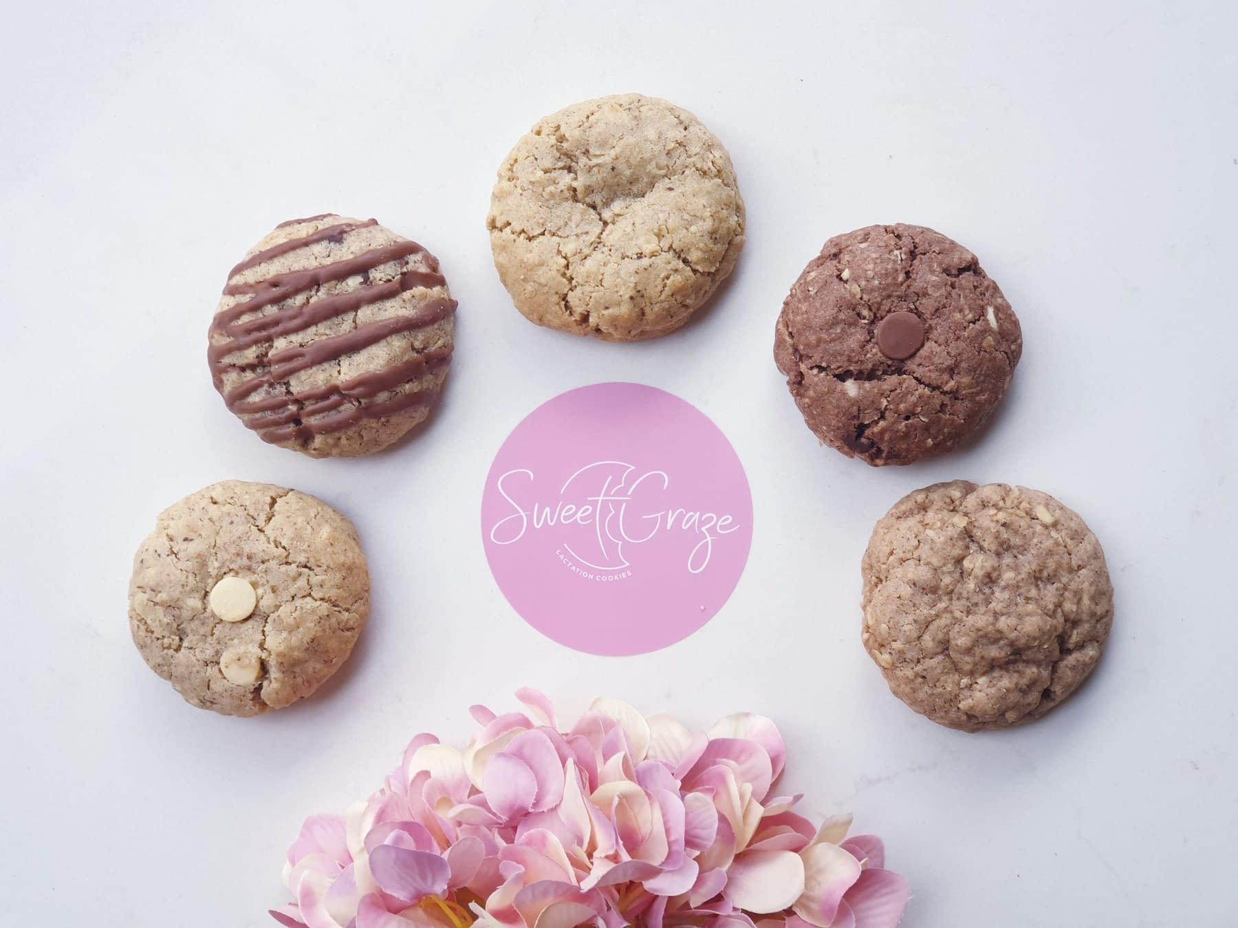 sweet graze lactation cookies melbourne australia