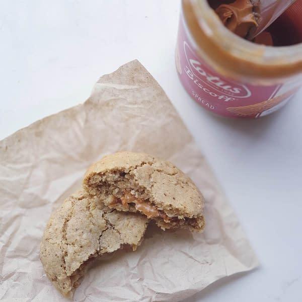 Biscoff Vegan Lactation Cookies