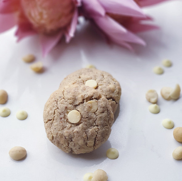 White Chocolate & Macadamia Lactation Cookies